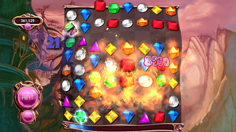 Bejeweled for iPhone, iPad, iPod touch full screenshot