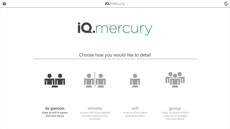 iQ.mercury screen shot 0