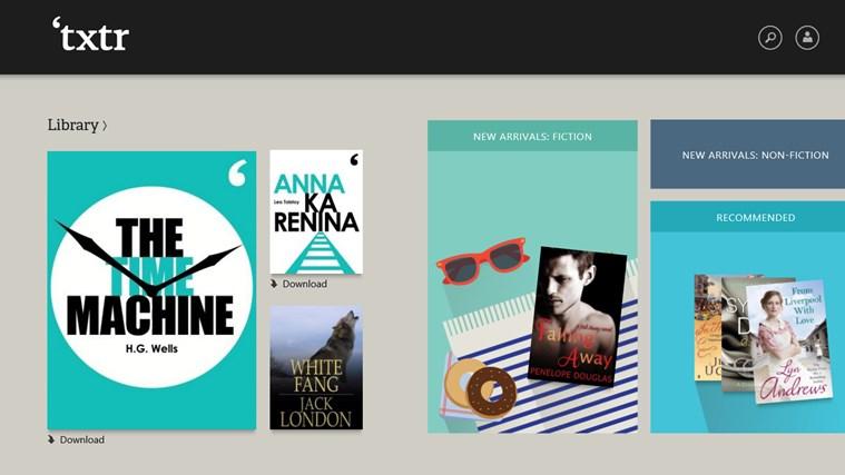 txtr ebooks screen shot 0