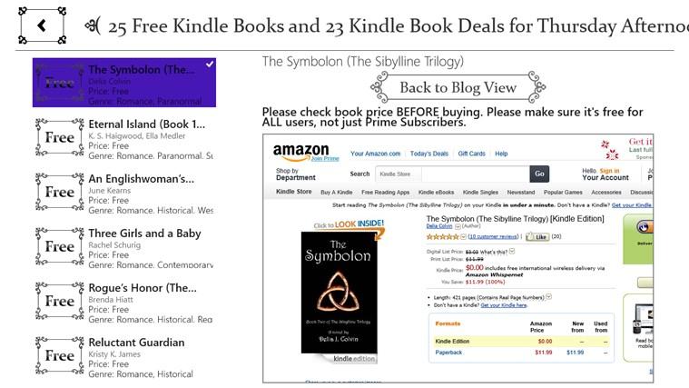 Free Books for Windows screen shot 2
