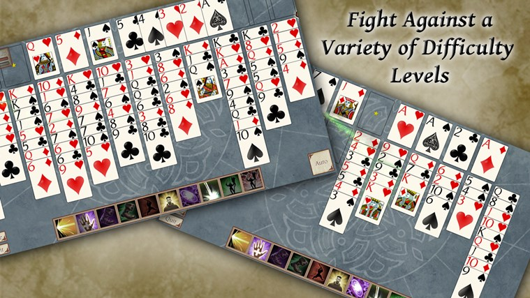 FreeCell Quest screen shot 0