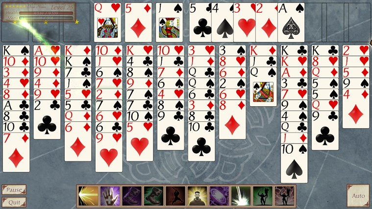 FreeCell Quest screen shot 4