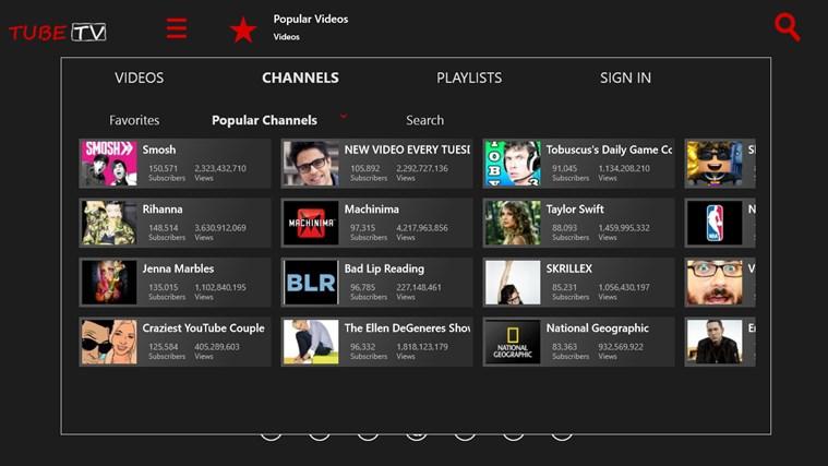 TubeTV for YouTube screen shot 2