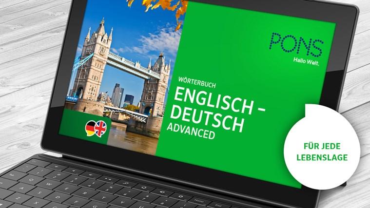 Wörterbuch Englisch <-> Deutsch ADVANCED von PONS Screenshot 0