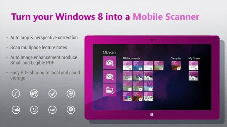 Logo for Mobile Document Scanner Free App for Windows