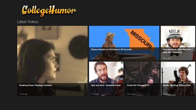 CollegeHumor screen shot 0