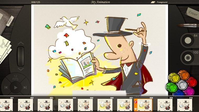 Animation Desk screen shot 0