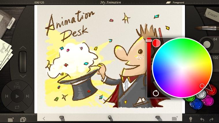 Animation Desk screen shot 2