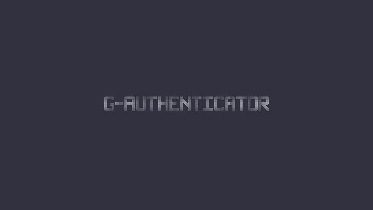 G-Authenticator screen shot 0
