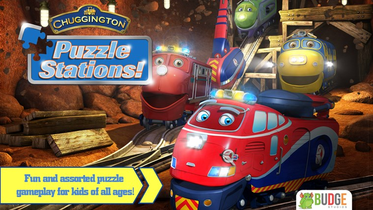 Chuggington Puzzle Stations screen shot 0
