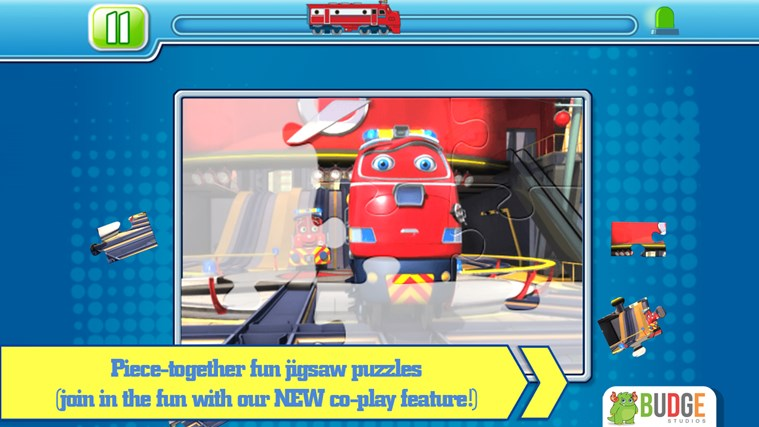 Chuggington Puzzle Stations screen shot 2