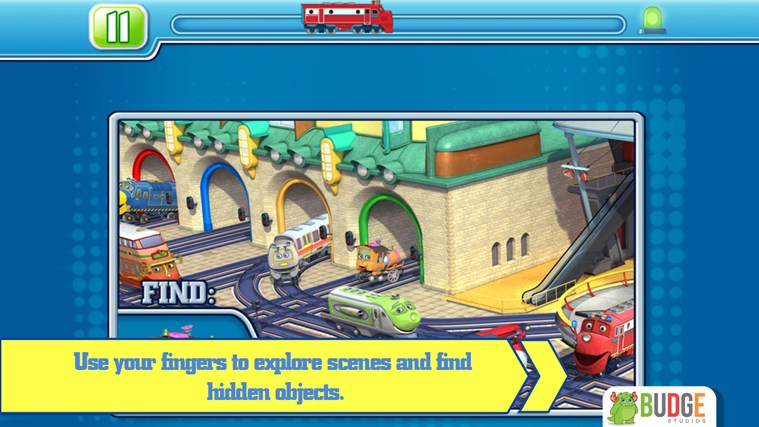 Chuggington Puzzle Stations screen shot 4