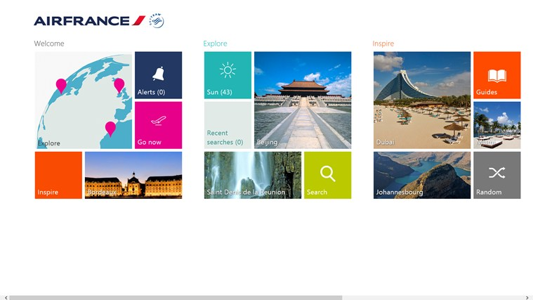 Inspiration by Air France capture d'écran 0