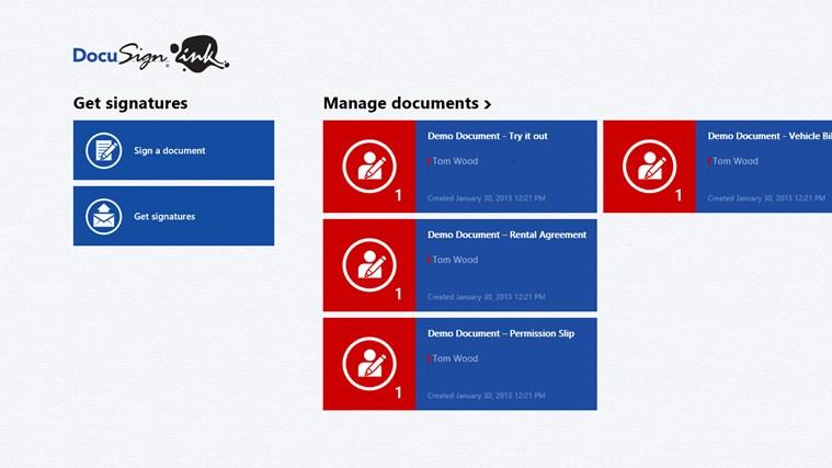 Logo for DocuSign Ink App for Windows