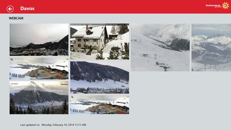 Swiss Snow Report captura de pantalla 8