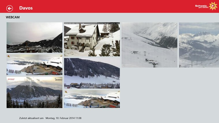 Swiss Snow Report Screenshot 8