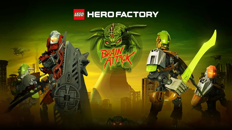 LEGO® Hero Factory Brain Attack skjermbilde 0