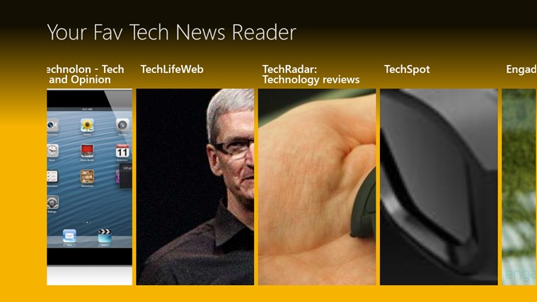 Tech Haps News Reader screen shot 0
