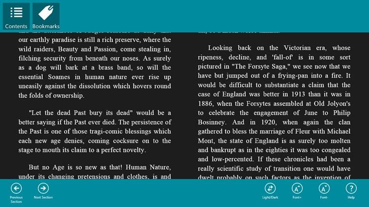 The Forsyte Saga captura de tela 2
