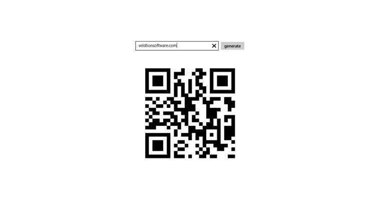 QR Codes screen shot 0