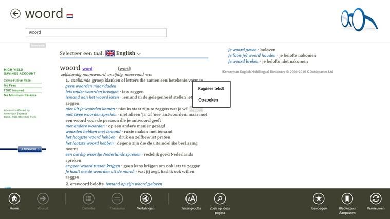 nederlands engels woordenboek online gratis