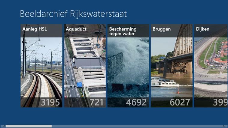 Beeldarchief Rijkswaterstaat schermafbeelding 2