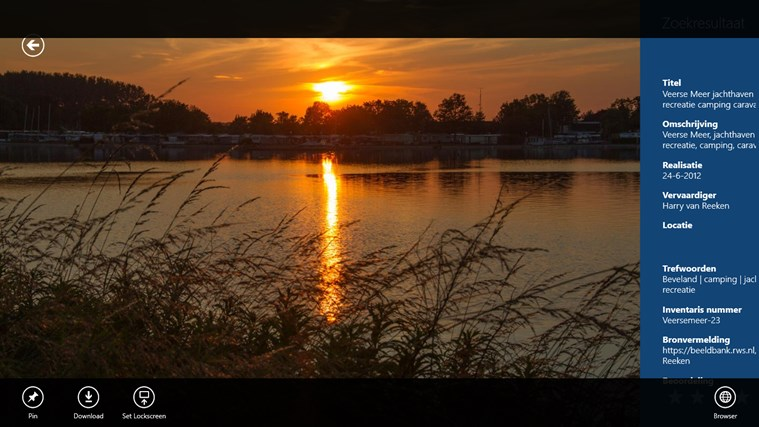 Beeldarchief Rijkswaterstaat schermafbeelding 6