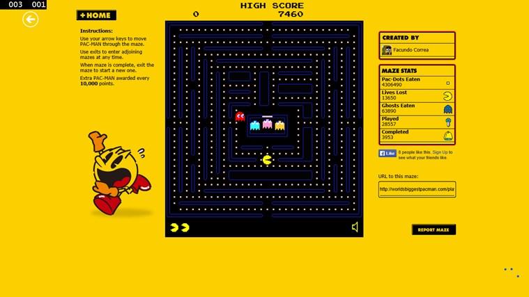 Pacman Infinity HD screen shot 4