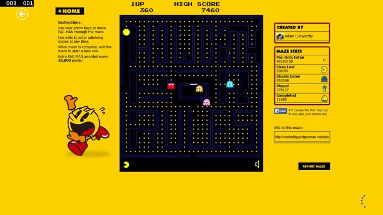 Pacman Infinity HD screen shot 8