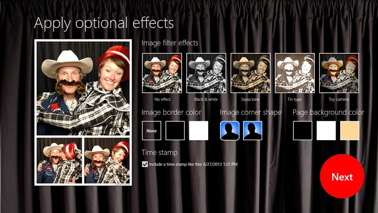 InstantPhotoBooth screen shot 4