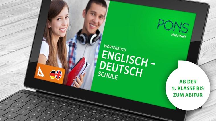 Wörterbuch Englisch <-> Deutsch SCHULE von PONS Screenshot 0
