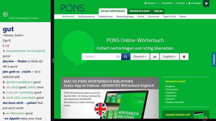 Wörterbuch Englisch <-> Deutsch SCHULE von PONS Screenshot 4