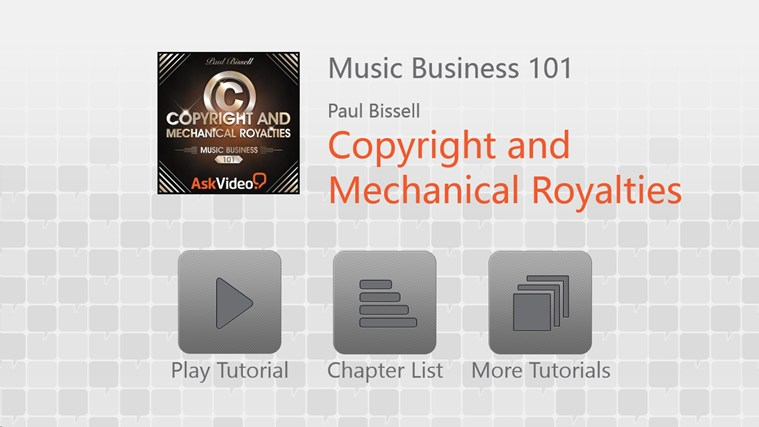 Music Business: Copyright and Royalties Screenshot 0