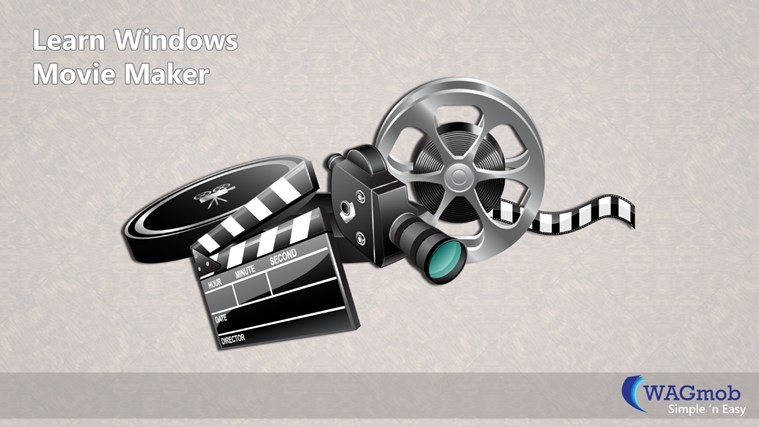 Learn Windows Movie Maker by WAGmob Tangkapan Layar 0
