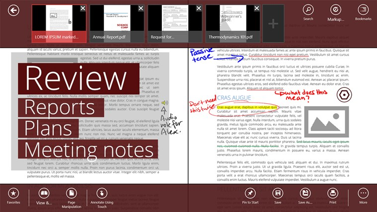 Drawboard PDF screen shot 2