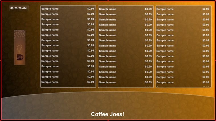 My Digital Menu Boards screen shot 8