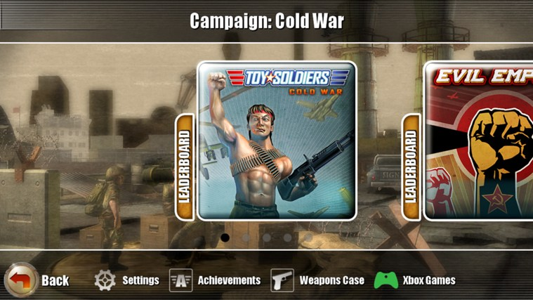 Toy Soldiers Cold War: Touch Edition screen shot 2