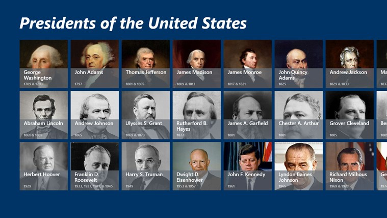 comparing presidents of the united states of Which president served as a lieutenant colonel in the spanish-american war who was the first democrat elected after the civil war who introduced social security if you're looking to learn.