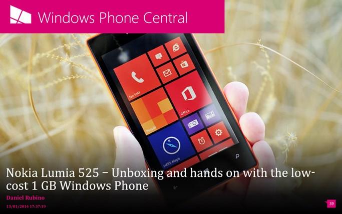 Windows Phone Central screen shot 0