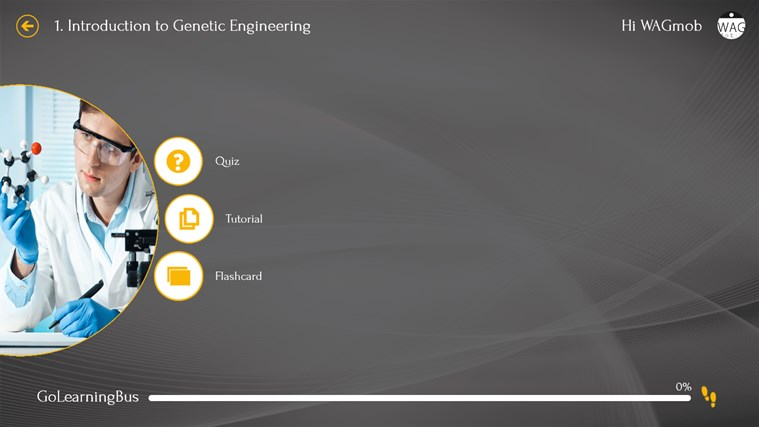 Genetic Engineering 101 by WAGmob screenshot 2