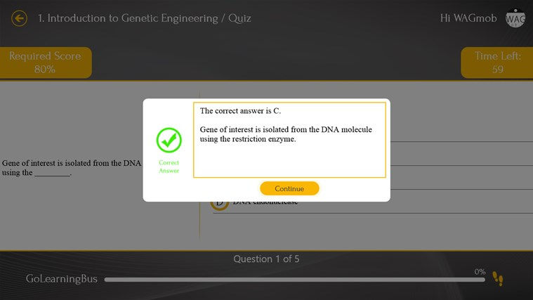 Genetic Engineering 101 by WAGmob screenshot 4