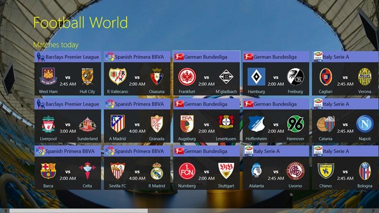 Football World posnetek zaslona 0