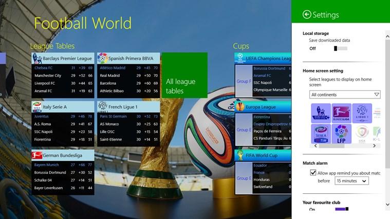 Football World posnetek zaslona 8
