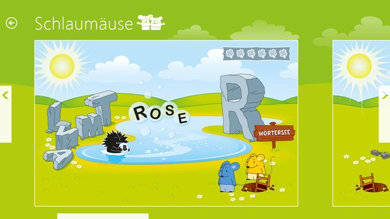 Schlaumäuse - Im Land der Sprache Screenshot 2