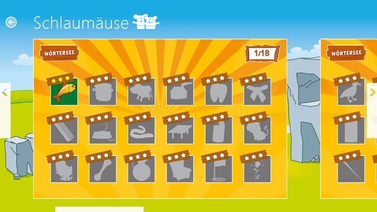 Schlaumäuse - Im Land der Sprache Screenshot 4