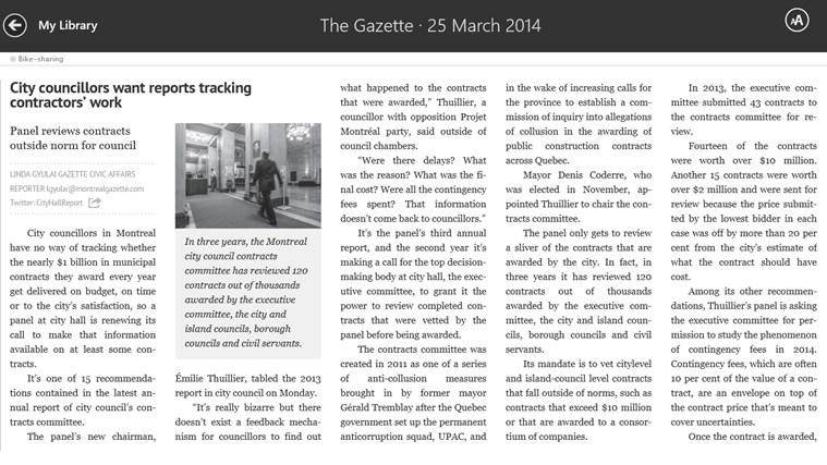 The Gazette ePaper capture d'écran 4