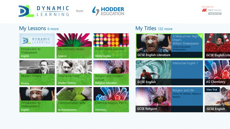 Dynamic Learning from Hodder Education screen shot 0