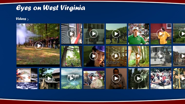 Eyes on West Virginia screen shot 0