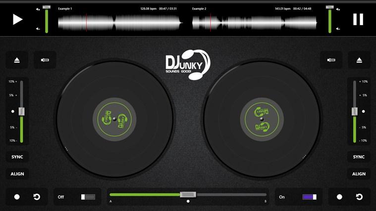 DJunky screenshot