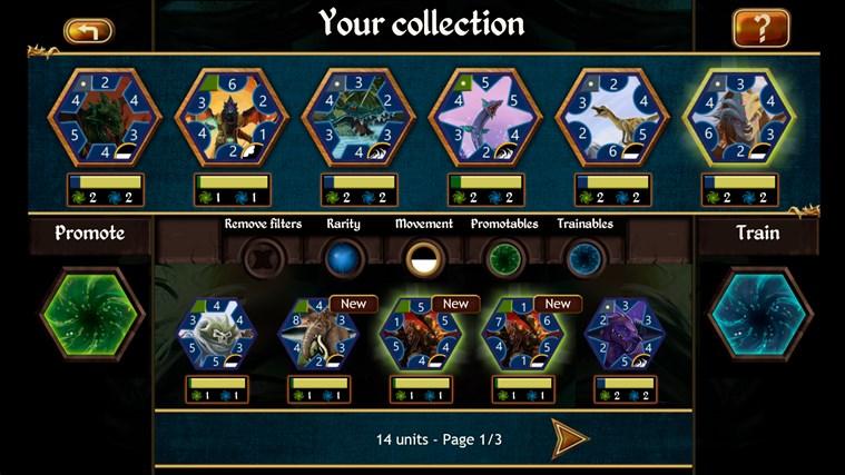 Permia - Duels screen shot 2